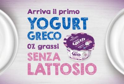 Yogurt Greco Senza Lattosio 0 grassi Atlante SRL